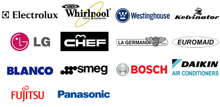 All appliance brands we repair